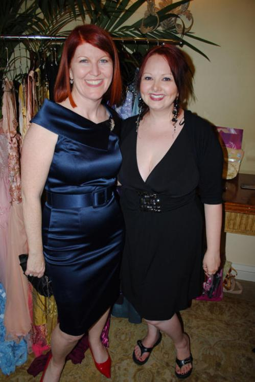 Kate Flannery with Sodaliscous