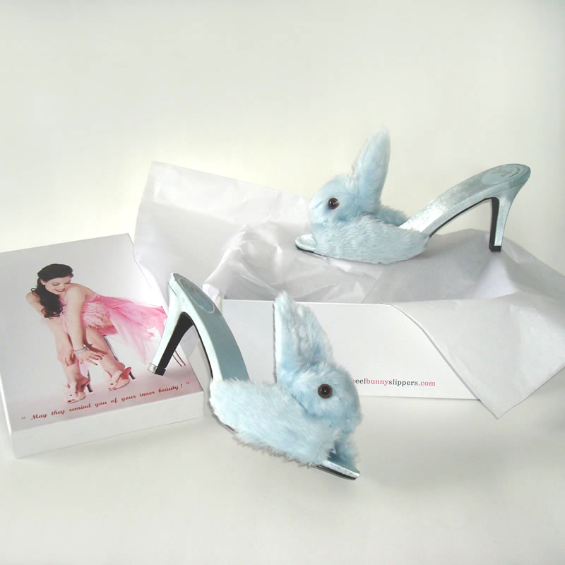 Bunny High Heel Slippers Teacups Amp Couture